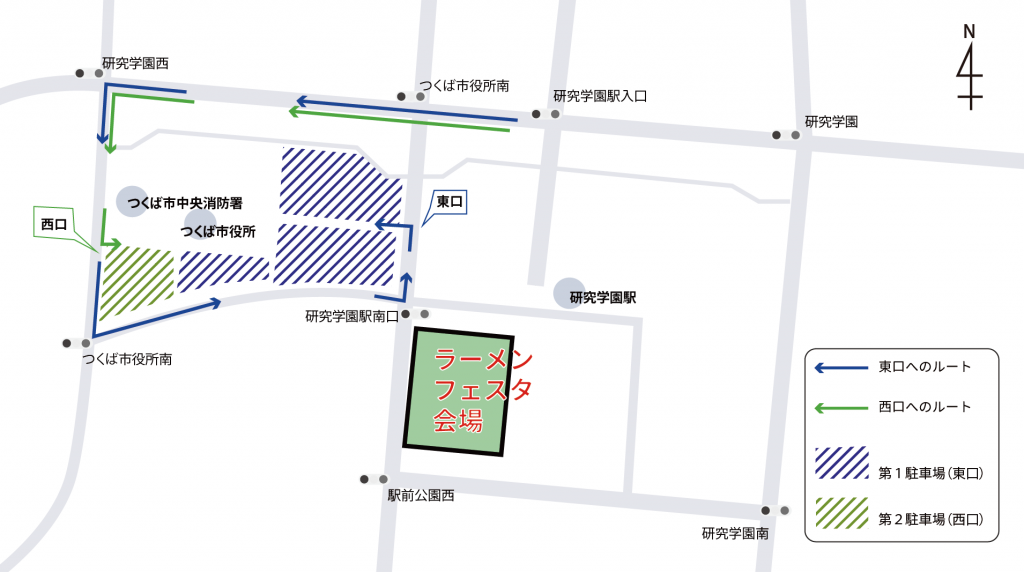 Parking route